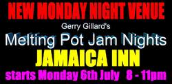 Gerry Gilliards Melting Pot Jam Night